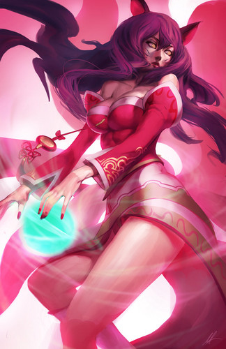 ahri ftw - sinnas-soiree Fan Art