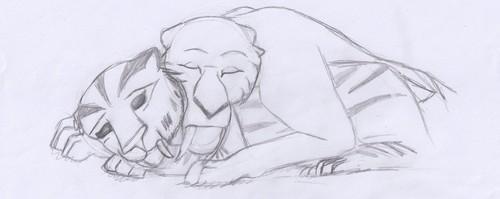 amour asleep