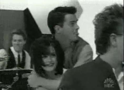 courteney piggybacks matty