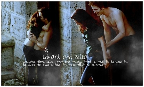edward and bella <3