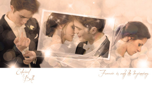 edward and bella<3