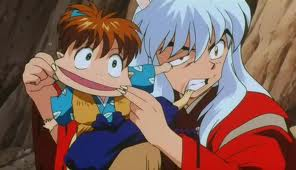 Inuyasha wallpaper possibly with anime called funny