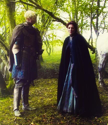 Brienne of Tarth & Catelyn Stark