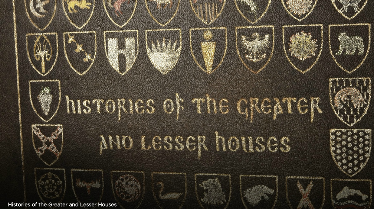 Histories of the greater and lesser houses