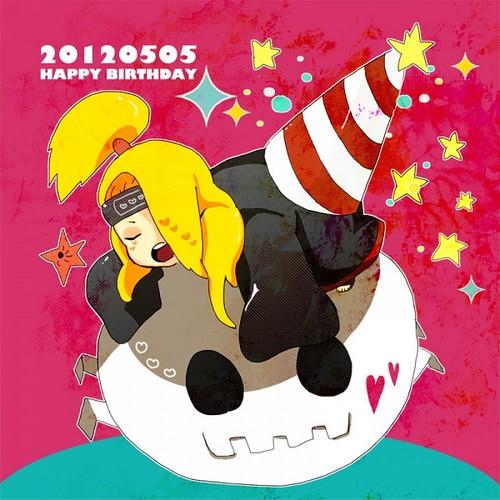 happy birthday, deidara !!