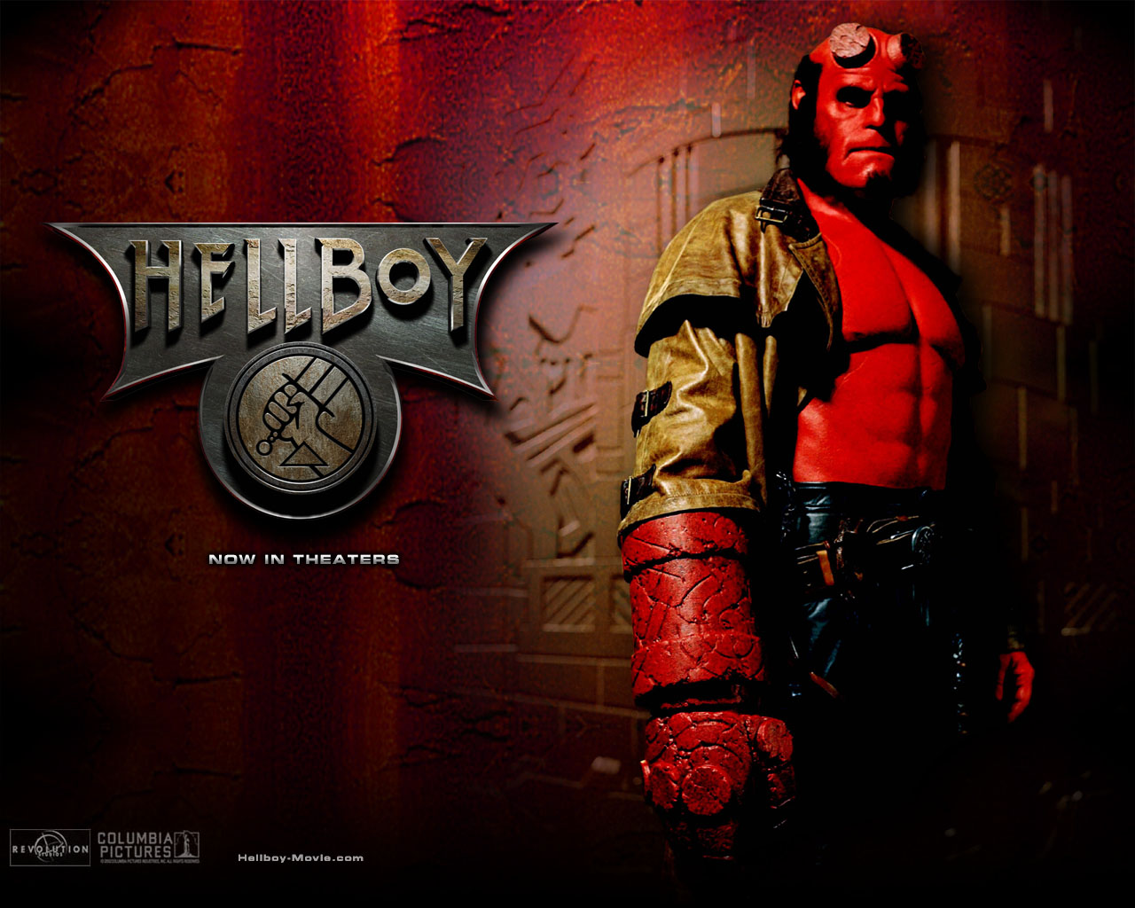 Hellboy phone wallpaper