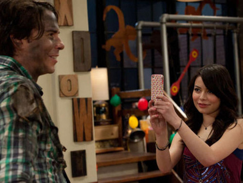 iCarly wallpaper entitled iPear Store