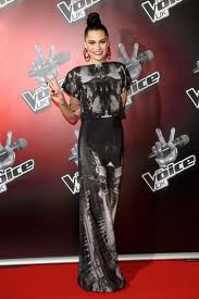 jessie j on the voice :P