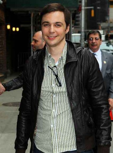 jim on letterman - jim-parsons Photo