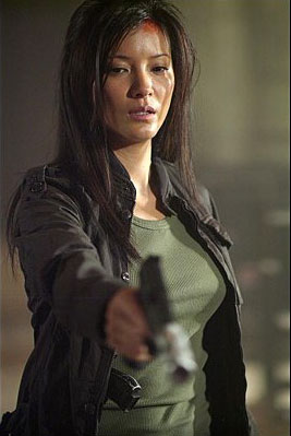 Kelly Hu fondo de pantalla containing a well dressed person, an outerwear, and an overgarment titled kelly hu