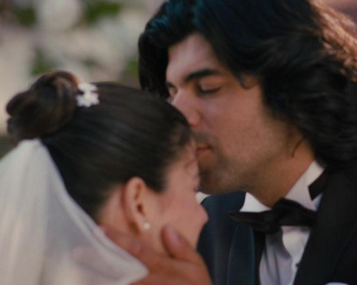 kiss of wedding fatma kerim