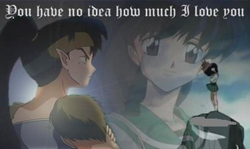 koga and kagome Hintergrund possibly with Anime called koga and kagome
