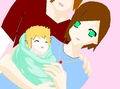 little baby len tou regulus and i!!!!(man that was a mouthful!!!) - the-atasunta-family fan art