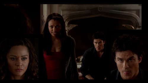 loool Damon pulls the tongue to his future mother-in-law