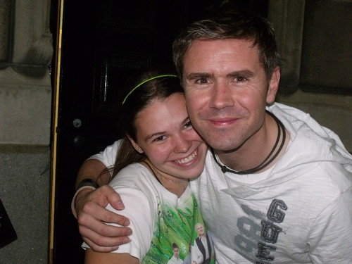 me and Neil after concierto Oct 6th