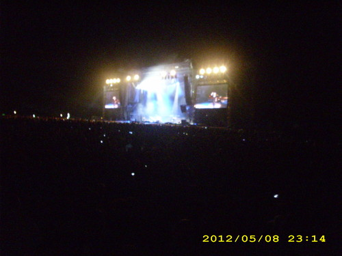 metallica live Belgrade 2012