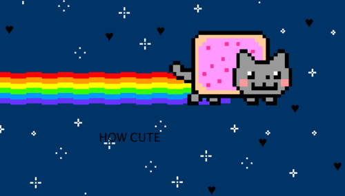 Nyan Cat achtergrond called nyan cat