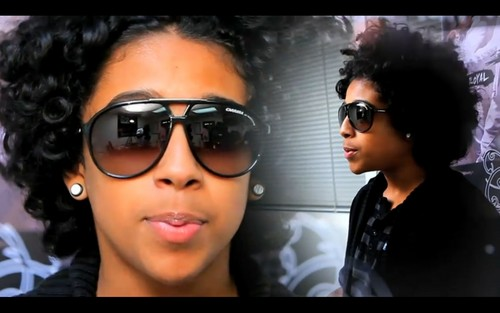 Ray Ray (Mindless Behavior) wallpaper with sunglasses called princeton mindless behavior