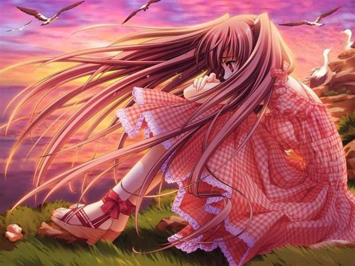Lubasakura Images Sad Anime Girl Hd Wallpaper And Background Photos