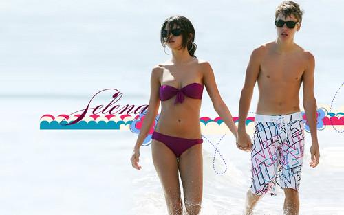 seLena and Justin Hintergrund