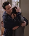 season 1 cuddle - monica-and-chandler photo