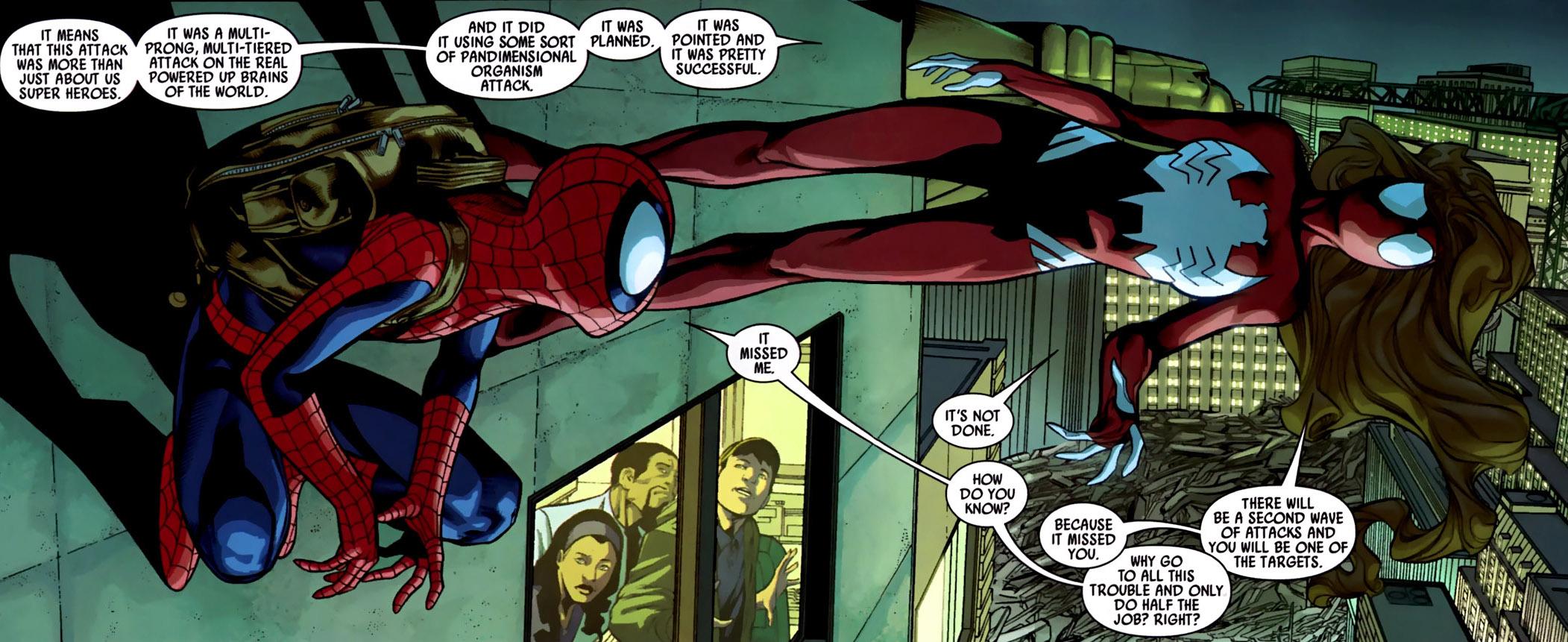 spider women spider-womanUltimate Spiderman And Spiderwoman