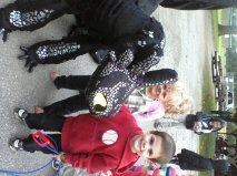 toothless homemade costume and crafts :)