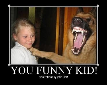 u funny kid.