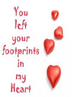 ur foot prints