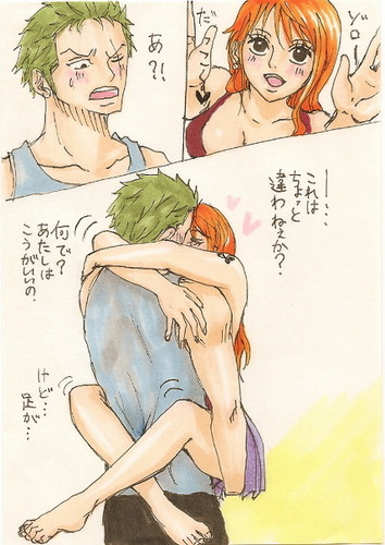 zoro loves nami