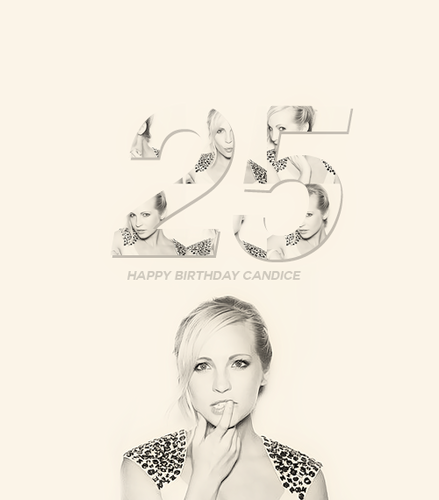 ♡ ✓ 25 years of flawlessness. {Happy Birthday C}
