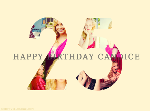 Candice Accola karatasi la kupamba ukuta entitled ♡ ✓ 25 years of flawlessness. {Happy Birthday C}
