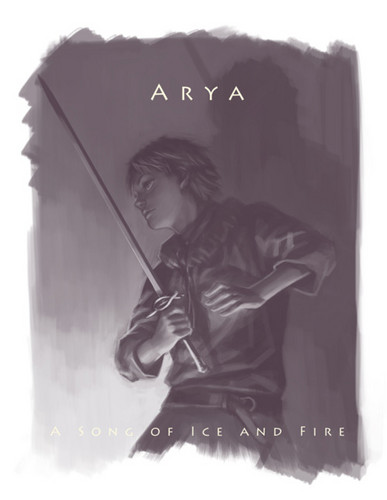Arya Stark - a-song-of-ice-and-fire Fan Art