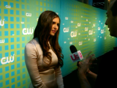 @ CW Upfronts - ian-somerhalder-and-nina-dobrev Photo