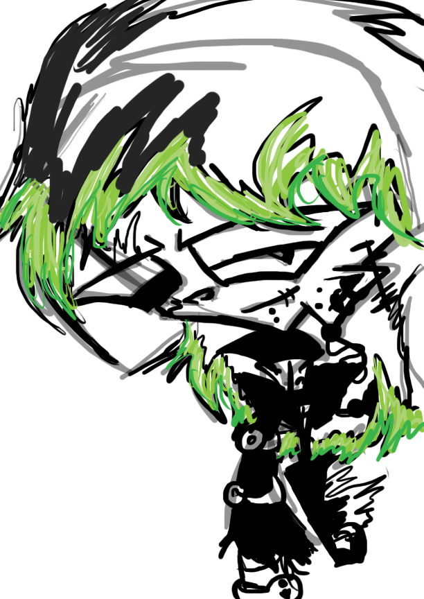 """""""D"""" Zade doodles"""