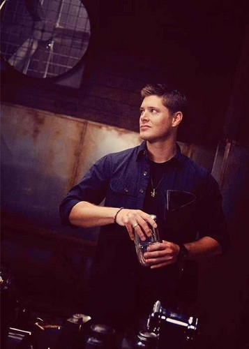 dean winchester wallpaper probably with a sign and a fogo called ♥Dean♥