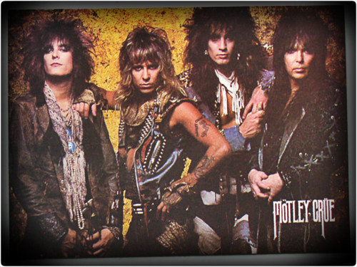 Rakshasa's World of Rock N' Roll wallpaper containing anime entitled ★ Motley Crue ☆