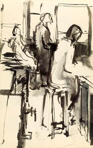 ''People in Bar'' sejak Stuart Sutcliffe