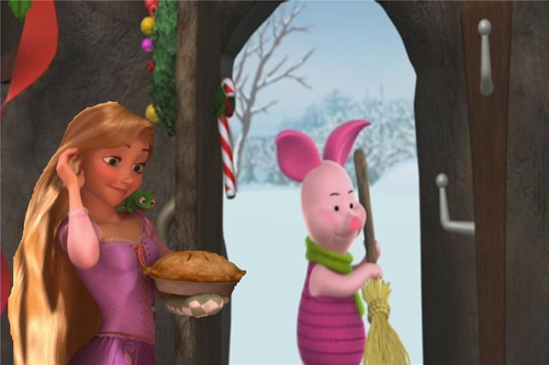 "disney crossover images ""Piglet, honey, I've made a pie..."" HD wallpaper and background photos"