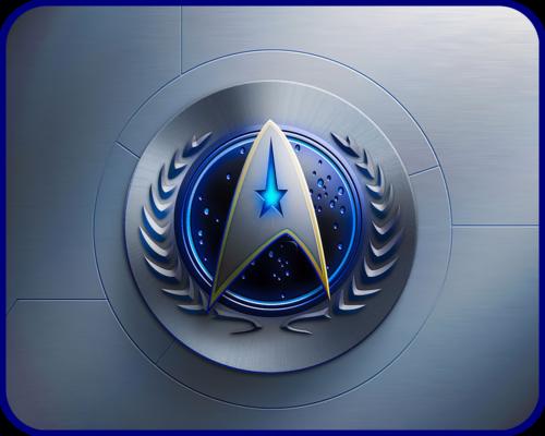 Du hành giữa các vì sao hình nền titled «Эмблема Звёздного Флота ОФП» [ «Starfleet emblem of the UFP» ]
