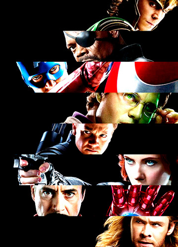 Fotos of The Avengers