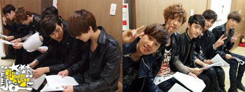 120514 EXO-K MBC Radio Younha Starry Night