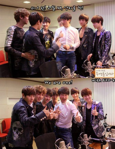 120515 EXO-K Radio 2PM তারিখ with Joo Young Hoon