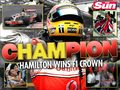 2008 Champion Wallpaper - lewis-hamilton wallpaper