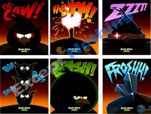 6 Angry Birds Weltraum