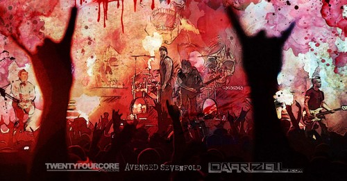 Avenged Sevenfold wallpaper entitled A.7.X