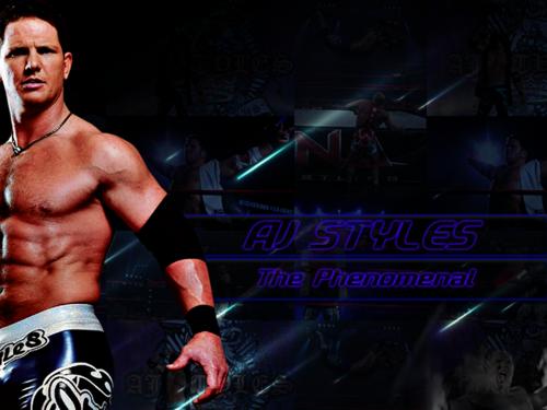 AJ Styles The Phenomenal