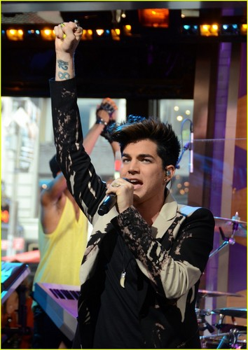 Adam Lambert images Adam Lambert: 'Good Morning America' HD wallpaper and background photos