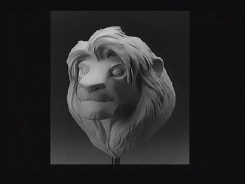 Adult Simba art model