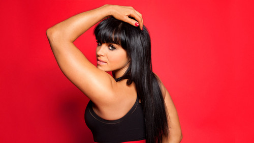 WWE Divas wallpaper possibly with a leotard, attractiveness, and a bustier called Aksana